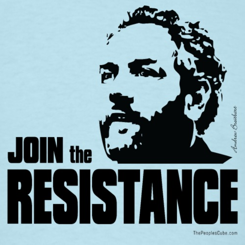 Breitbart: join the resistance - black