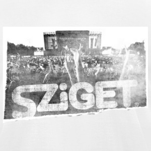 Sziget Shirt T-Shirts - Men's T-Shirt by American Apparel