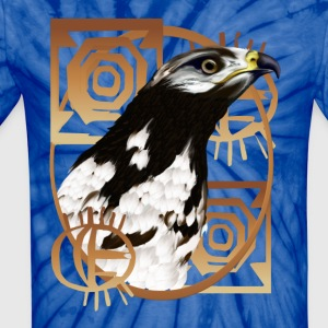 Bird Of The Serengeti - Unisex Tie Dye T-Shirt