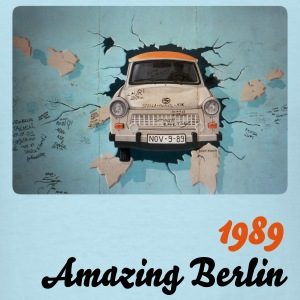 1989, Amazing Berlin - Men's T-Shirt