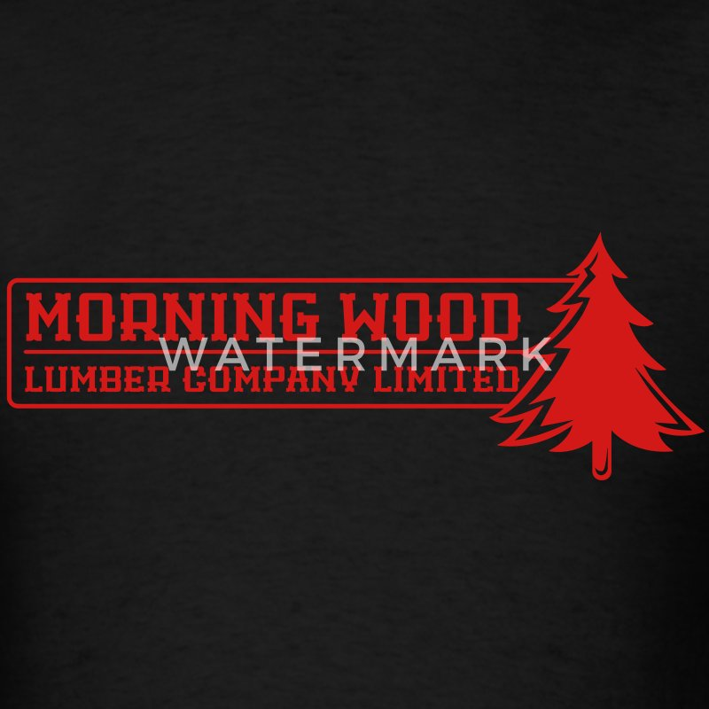 Morning Wood Lumber Company - Men's T-Shirt