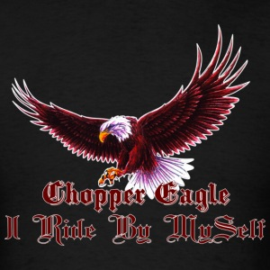 Chopper Eagle  - Men's T-Shirt