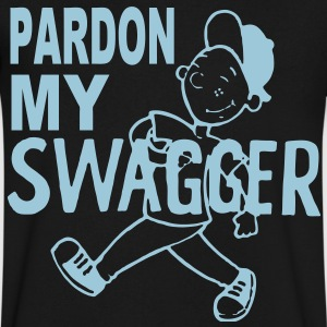 PARDON MY SWAGGER T-Shirts - Men's V-Neck T-Shirt by Canvas