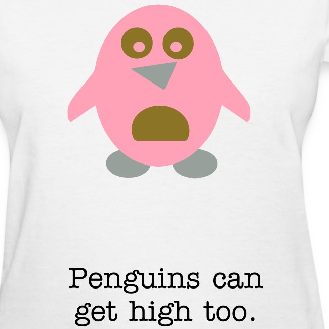 Penguins can get high