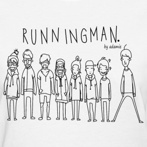 Running Man Cast: Black Women's T-Shirts - Women's T-Shirt