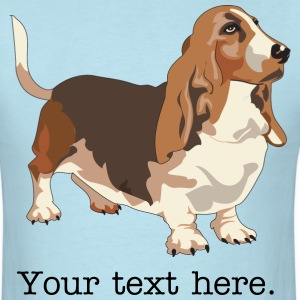 Basset Hound - HIGH QUALITY T-Shirts - Men's T-Shirt