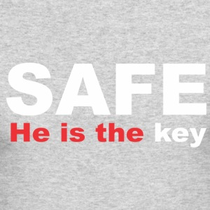 Safe - Men's Long Sleeve T-Shirt by Next Level