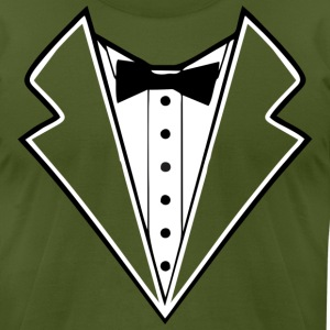 tuxedo T-Shirts - Men's T-Shirt by American Apparel