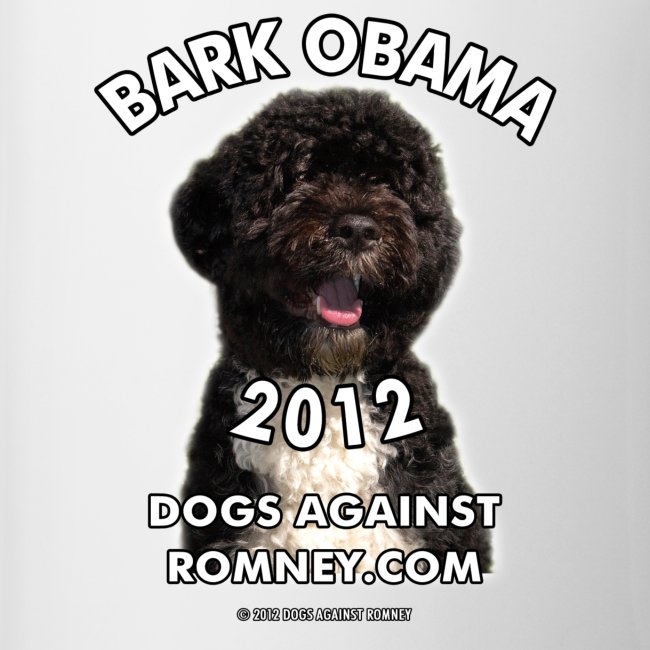 "Official Dogs Against Romney ""Bark Obama"" Coffee Mug"