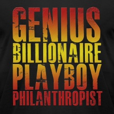 Genius Billionaire Playboy Philanthropist T-Shirts