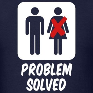 Problem solved - Men's T-Shirt