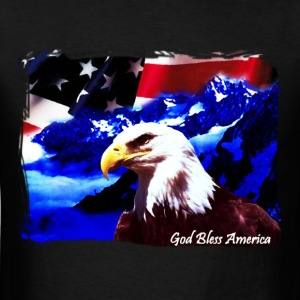 God Bless America - Men's T-Shirt
