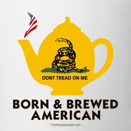 Tea Pot - Born & Brewed on light
