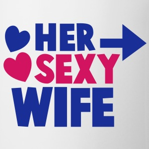 Her SEXY Wife with right arrow Gift - Coffee/Tea Mug