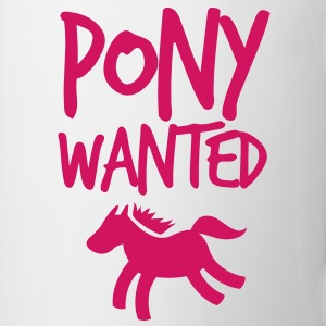 pony wanted with type Gift - Coffee/Tea Mug