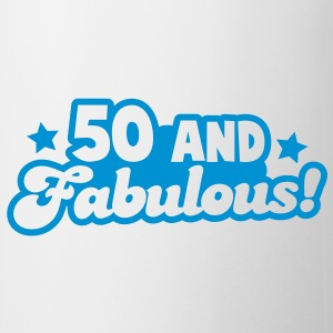 50 fifty and FABULOUS! Gift - Coffee/Tea Mug
