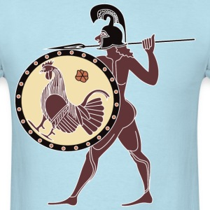 Rooster Shield T-Shirts - Men's T-Shirt