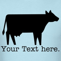 Cow - VECTOR T-Shirts