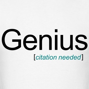 Genius [citation needed] - Men's T-Shirt