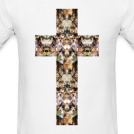 Design ~ CAT CROSS - MENS TSHIRT
