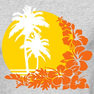 palm sunset Long Sleeve Shirts - Men's Long Sleeve T-Shirt by Next Level