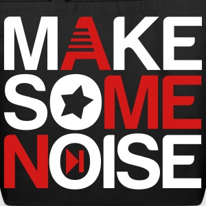 make some noise Bags  - Eco-Friendly Cotton Tote
