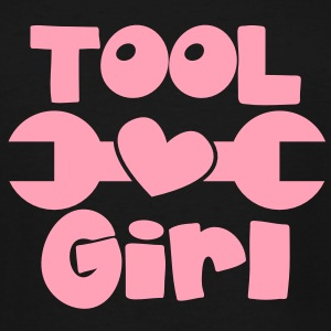 TOOL girl with spanner and a love heart T-Shirts - Men's Tall T-Shirt