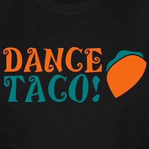 DANCE TACO! with takeaway food burrito  T-Shirts - Men's Tall T-Shirt