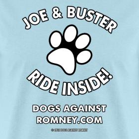Design ~ Official Dogs Agianst Romney