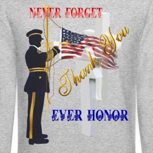 Never Forget-Ever Honor - Crewneck Sweatshirt