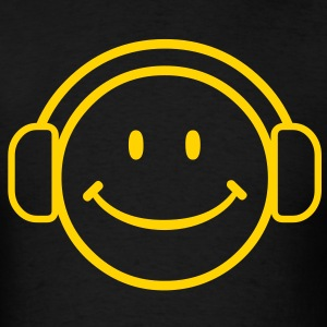 DJ Happy Face - VECTOR T-Shirts - Men's T-Shirt