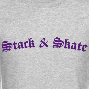 stack__skate Long Sleeve Shirts - Crewneck Sweatshirt