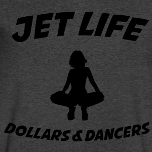 Jet Life / DOLLARS 7 DANCERS T-Shirts - Men's V-Neck T-Shirt by Canvas