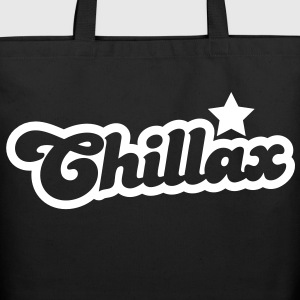 chillax relax shirt with a star Bags  - Eco-Friendly Cotton Tote