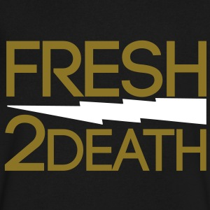 FRESH 2 DEATH  T-Shirts - Men's V-Neck T-Shirt by Canvas