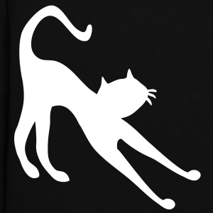 Cat stretching by patjila2 Hoodies - Women's Hoodie
