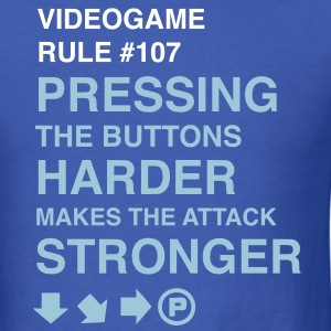 Videogame Rule #107 T-Shirts - Men's T-Shirt