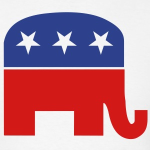 Republican elephant T-Shirts - Men's T-Shirt