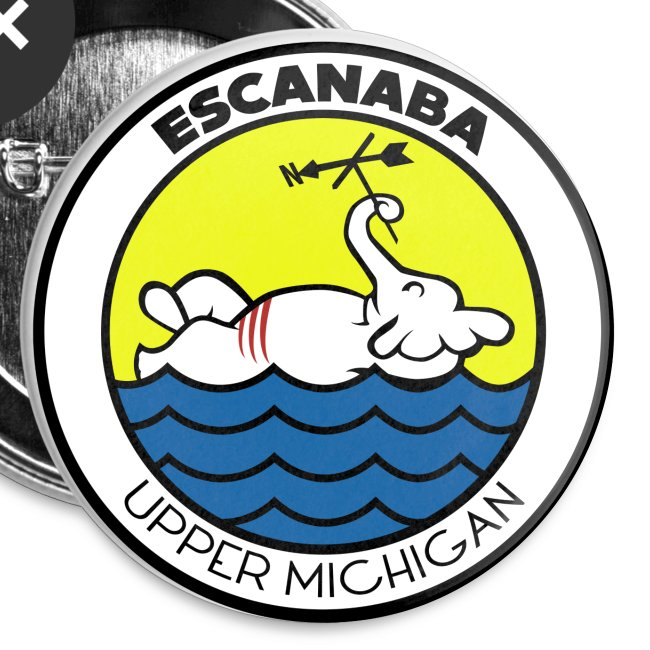 escanaba michigan pins