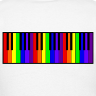 Design ~ Rainbow Piano keyboard