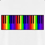 Design ~ Rainbow Piano keyboard