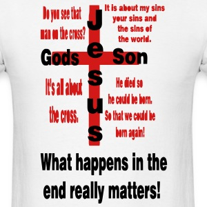 its_about_the_cross3 T-Shirts - Men's T-Shirt