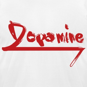 dopamine T-Shirts - Men's T-Shirt by American Apparel