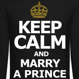 Keep Calm and Marry A Prince - Crewneck Sweatshirt