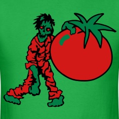 Zombie with Tomato T-Shirts