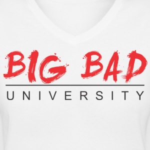 big_bad Women's T-Shirts - Women's V-Neck T-Shirt
