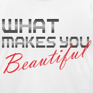 what_makes_you T-Shirts - Men's T-Shirt by American Apparel