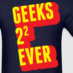Geeks forever - Men's T-Shirt