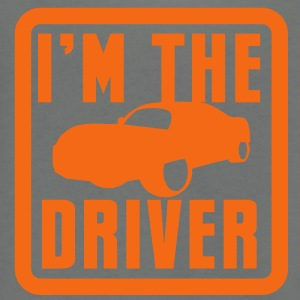 I'm the DRIVER sports car high performance vehicle Zip Hoodies/Jackets - Unisex Fleece Zip Hoodie by American Apparel