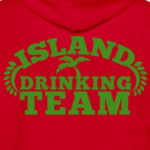 island drinking team great for a Holiday shirt Zip Hoodies/Jackets - Unisex Fleece Zip Hoodie by American Apparel